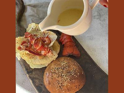 LE sandwich Gk au homard