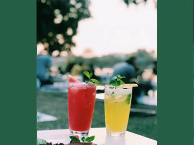 Cocktails à base de cidres et poiré